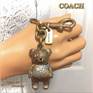 Coach Bear Star Wars Chewbacca Keychain Bag Charm
